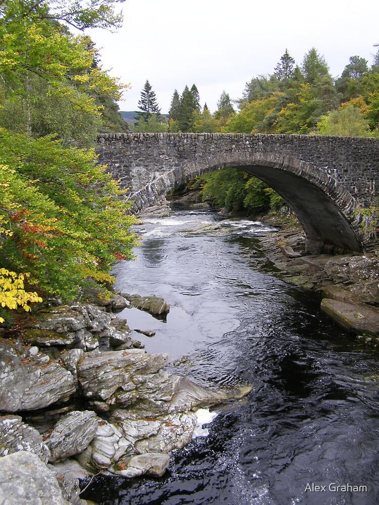 Invermoriston Bridge by Alex Graham