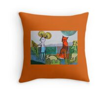 Waiting for the Eocene Throw Pillow