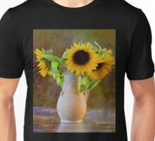 It's What Sunflowers Do - Flower Art Unisex T-Shirt