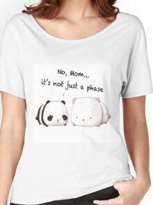 Emo Panda Women's Relaxed Fit T-Shirt