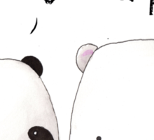Emo Panda Sticker
