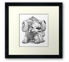 The South Highland Ram Dog Framed Print