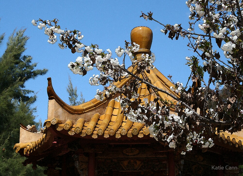 Chinese Garden by Katie Cann
