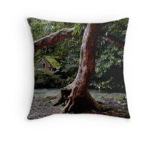 Rainbow Tree - Holy Well Throw Pillow
