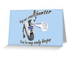 Clap2D2 Greeting Card