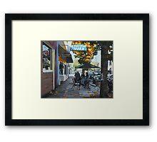 Local Color Framed Print