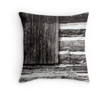 A Pioneer Flag Throw Pillow