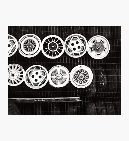 Hubcaps Photographic Print