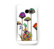 Gnome Snail Ride Samsung Galaxy Case/Skin