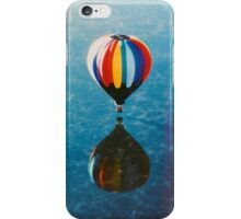 Balloon over the water iPhone Case/Skin