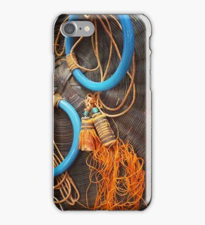 Vintage Sewing Basket iPhone Case/Skin