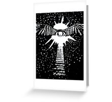 Keyhole in the Sk(eye) Greeting Card