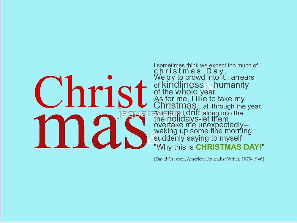 Christmas Day! by jegustavsen