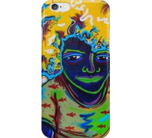 Three Year Old Fro iPhone Case/Skin