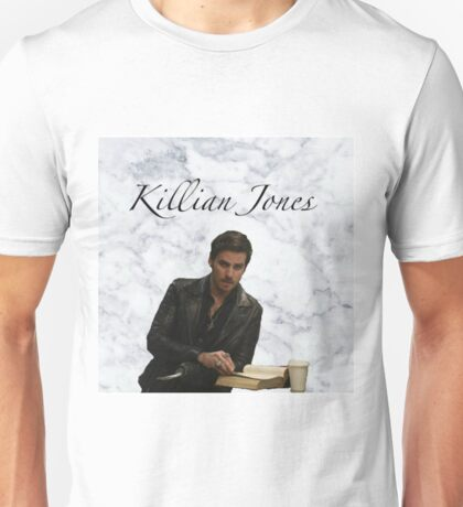 "Killian Jones ""Captain Hook"" Marble Design Unisex T-Shirt"
