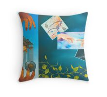 THE PERSISTENCE OF EVIL Throw Pillow