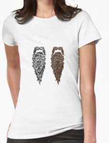 A pair of Beards Womens Fitted T-Shirt