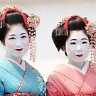 Maiko, Kyoto, Japan by Robyn Lakeman