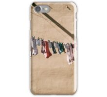 smalls on a wall iPhone Case/Skin