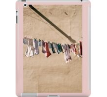 smalls on a wall iPad Case/Skin