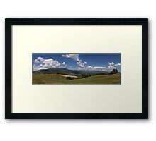 Tuscan Hills Framed Print