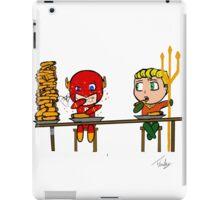 The flash and aquaman iPad Case/Skin