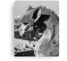 Weathered Gargoyle Canvas Print