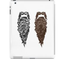 A pair of Beards iPad Case/Skin