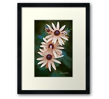 Who Says We Have to Be Yellow? Framed Print