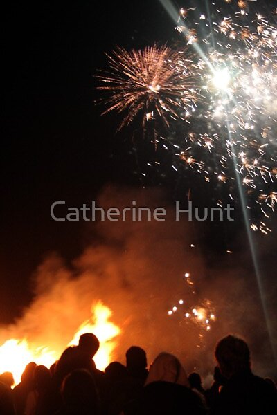 Fireworks, Sennen by Catherine Hunt