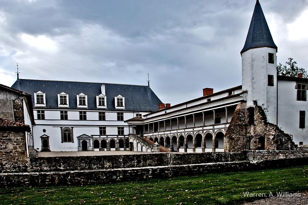 Chateau de la Bastie D'urfe by Warren. A. Williams