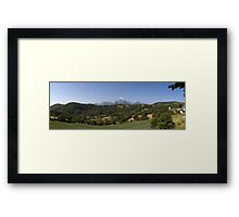 Tuscan Tranquillity Framed Print