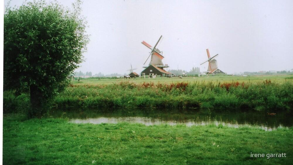 Windmill Village by irene garratt