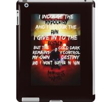 Motionless In White - Death March iPad Case/Skin