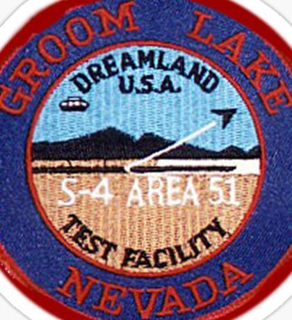 Groom Lake Sticker