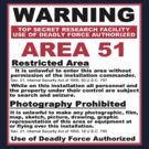 area 51 sign by Don Cox