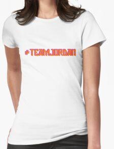 #TEAMJORDAN Womens Fitted T-Shirt