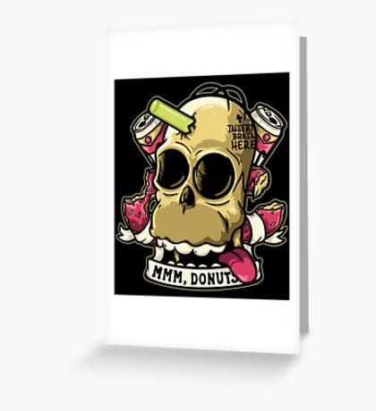 Insert Brain Here Greeting Card