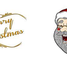 Merry Christmas - Santa Mug by Tom Gant