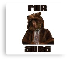 Fur Sure Canvas Print