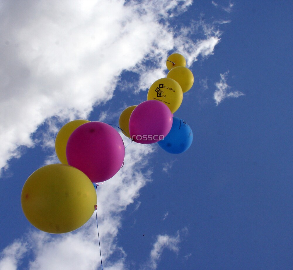 The Balloons by rossco