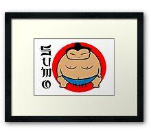 Sumo! Framed Print