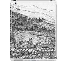 Italy-The view from the Citadel of Assisi iPad Case/Skin