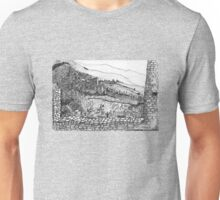 Italy-The view from the Citadel of Assisi Unisex T-Shirt
