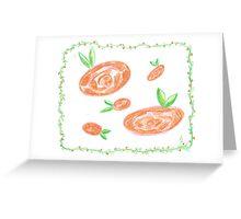 awsome flowers Greeting Card