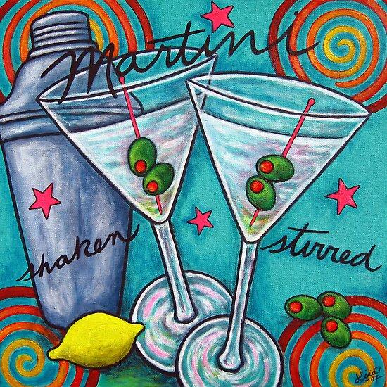 Retro Martini by LisaLorenz