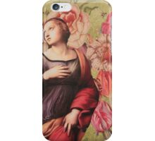 The Ascention of Saint Catharine of Alexandria iPhone Case/Skin