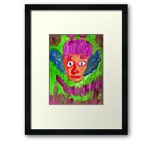 Elf Boy Framed Print