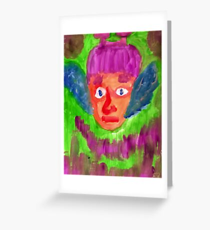 Elf Boy Greeting Card