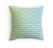 Gradient Chains 3 Throw Pillow